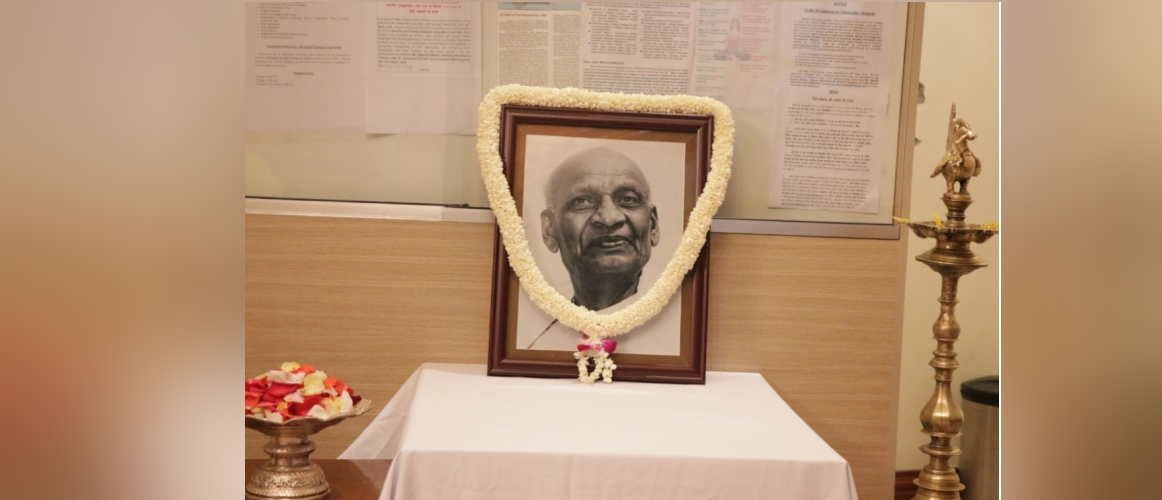 144th Birth Anniversary of Sardar Vallabhbhai Patel
