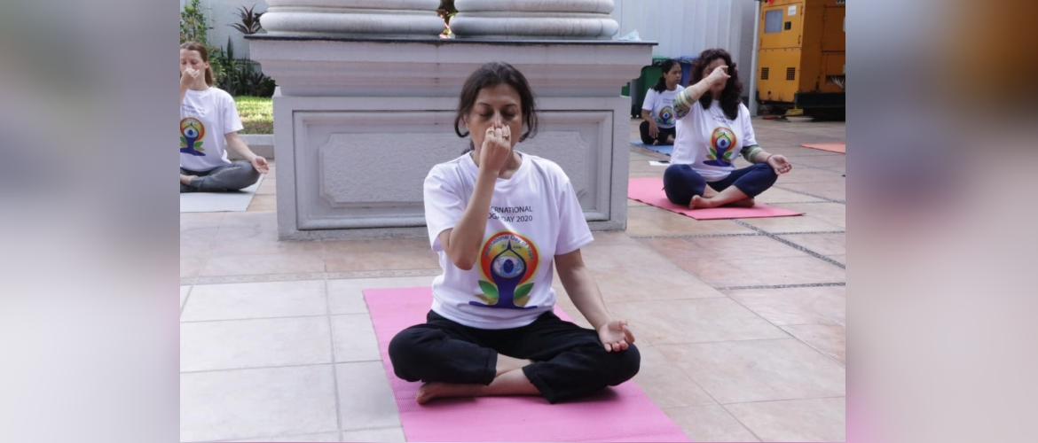 International Day of Yoga Celebration in Phnom Penh