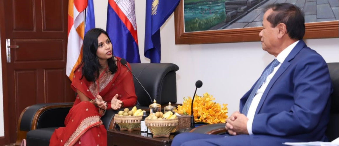 Ambassador Devyani Khobragade called on Minister of Tourism