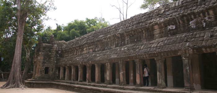 Restoration of Ta Prohm Temple by the Archaeological Survey of India (ASI)